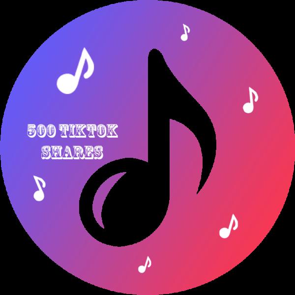 500 TikTok Shares