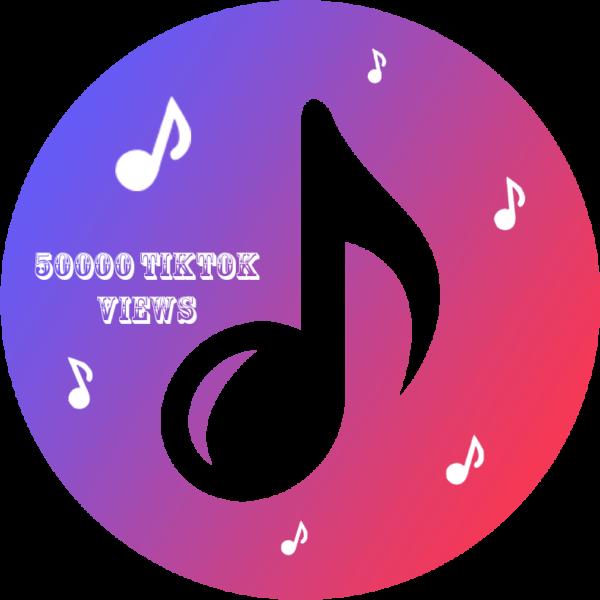 50000 TikTok Views