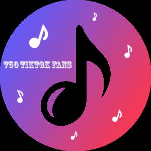 750 TikTok Fans